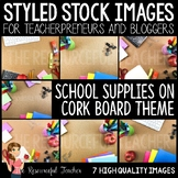 Styled Stock Photos for TpT Sellers - School Supplies on C