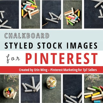 Styled Stock Photos for Pinterest: Chalkboard