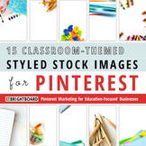 Styled Stock Photos for Pinterest: Stacks of Books