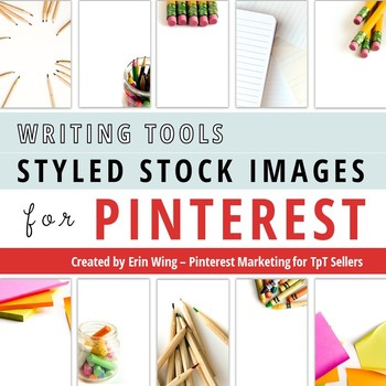 Styled Stock Photos for Pinterest: Writing Tools