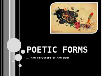 Styles of Poetry