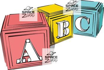Stylish ABC cubes ( images )