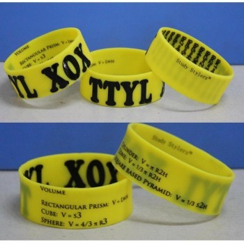 Stylish Math Bands to help your kids study!  [Rewards, fundraisers]