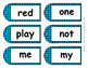 Stylish and Fun Dolch Pre-K Sight Word Tags ~ Cards