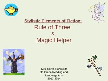 Stylistic Elements - Rule of Three and Magic Helper