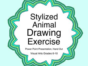 Stylized Animal Drawing Exercise