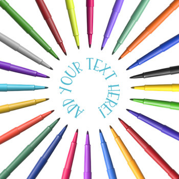 Stylized Graphics: Flair Pens