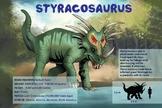 Styracosaurus - Dinosaur Poster & Handout