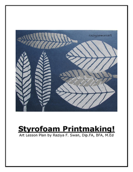 Styrofoam Printmaking
