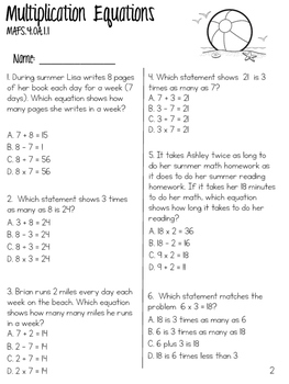 SuMmEr SkIlLs ~ End-of-Year Reviews (3rd & 4th Grade)