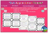 Substitute Appreciation Student Tickets - Target & Coach B