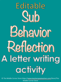 Sub Behavior Reflection