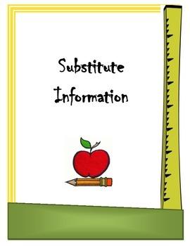 Sub Binder Cover Sheet
