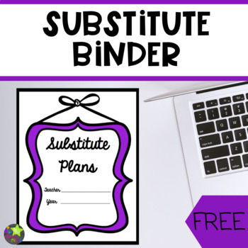 Sub Binder Divider Pages