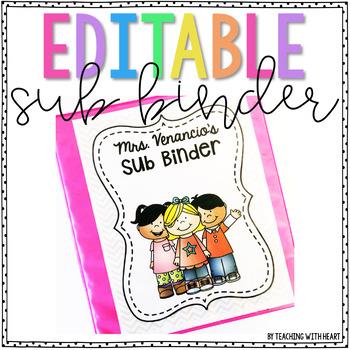 Sub Binder {EDITABLE!}