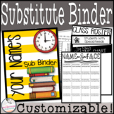 Sub Binder~ Editable! (45+ Pages)