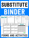 Sub Binder - Forms and Activities