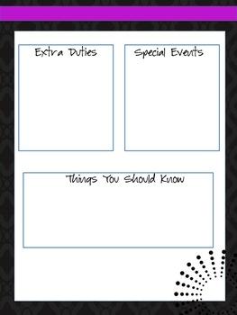 Sub Binder / Guest Teacher Binder / Sub Folder / Guest Teacher Folder
