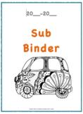 Sub Binder Info