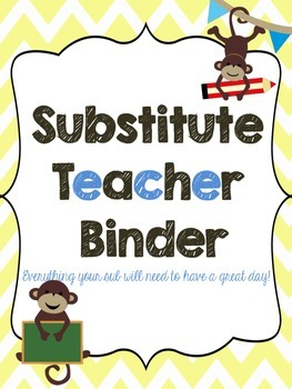Sub Binder - Monkey Theme