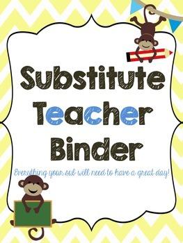 Sub Binder - Monkey Theme