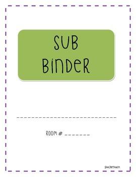 Sub Binder Sheets