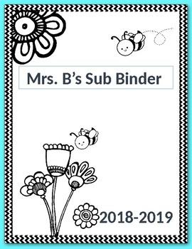 Sub Binder- Teal