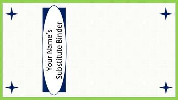 Sub Binder or Tub Labels - Lime & White Mini-Polka Dots
