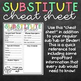 Sub Cheat Sheet