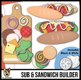 Sub Clip Art: Build Your Own Submarine Sandwich