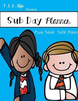 Sub Day Planner Bundle ~Editable~