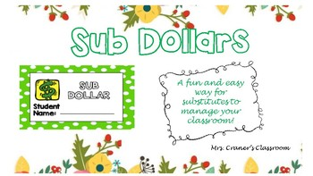 Sub Dollars-Easy Management for Substitutes