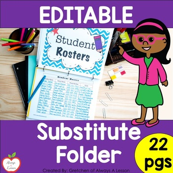 Substitute Folder 101: Ideas and Printables