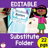 Substitute Folder:  Ideas and Printables for a Sub