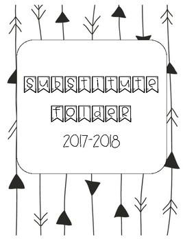 Sub Folder Binder Cover 2017-2018