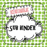 Sub Binder-Editable!