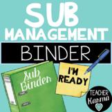 Sub Management Binder