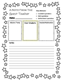Sub Note Template