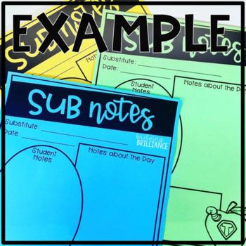 Sub Notes Freebie
