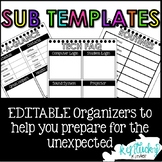 Sub Plan Organizer