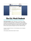 Sub Plan: The CIA Factbook
