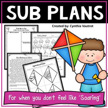 Sub Plans! 4th Grade! Kites!