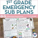 Sub Plans 1st Grade