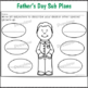 1st Grade Sub Plans Father's Day