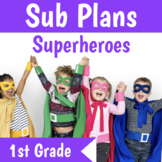 Sub Plans 1st Grade 3 Full Days