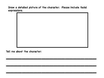 Sub Plans 1st or 2nd Grade ELA