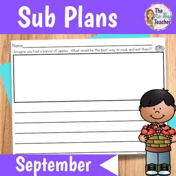Sub Plans 2nd Grade September