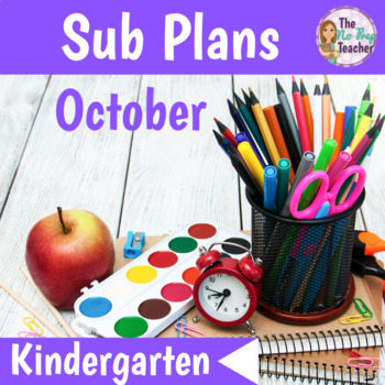 Sub Plans Kindergarten October