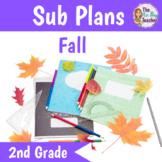 Sub Plans 2nd Grade Fall