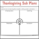Sub Plans 1st Grade Thanksgiving